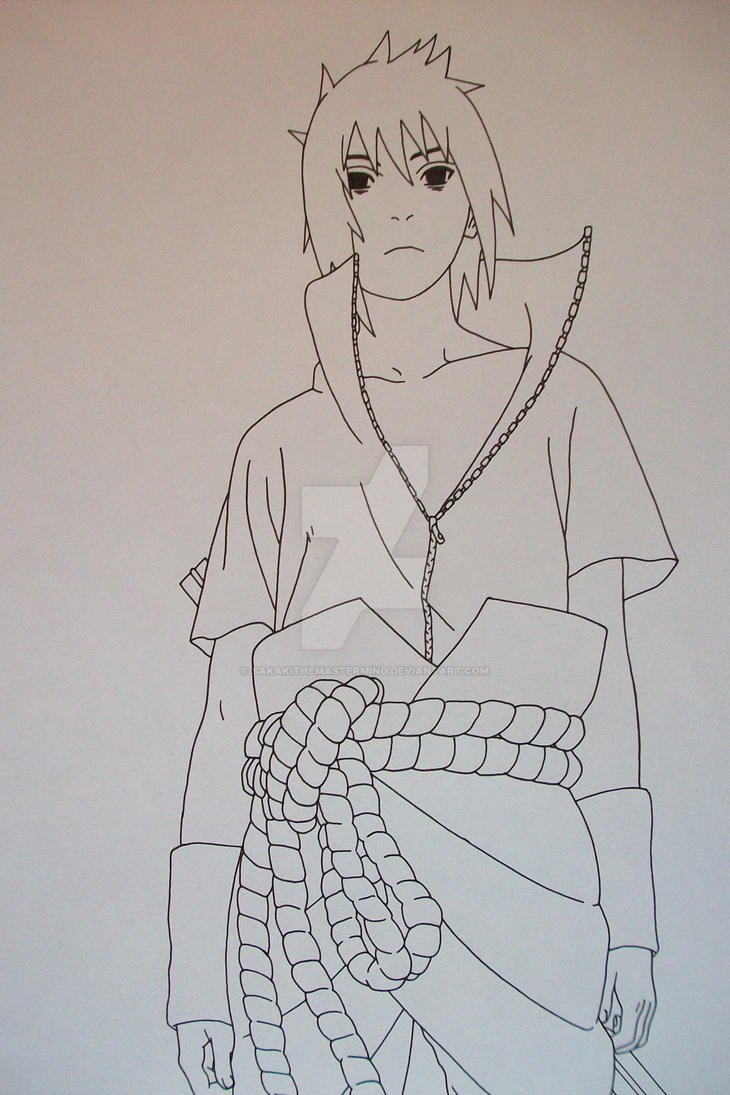 Sasuke Uchiha Taka Style No.3 by SakakiTheMastermind