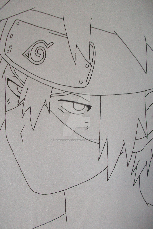 Drawing Kakashi Kid