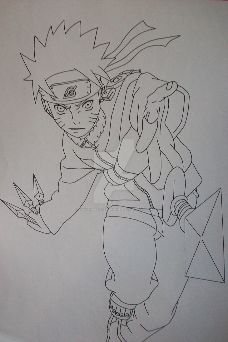 Naruto uzumaki by sakakithemastermind