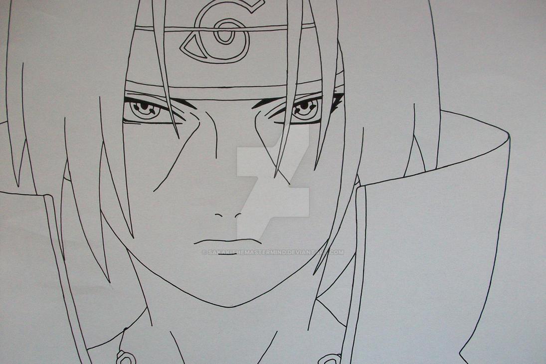 Deadly Eyes Itachi Uchiha By Sakakithemastermind On Deviantart