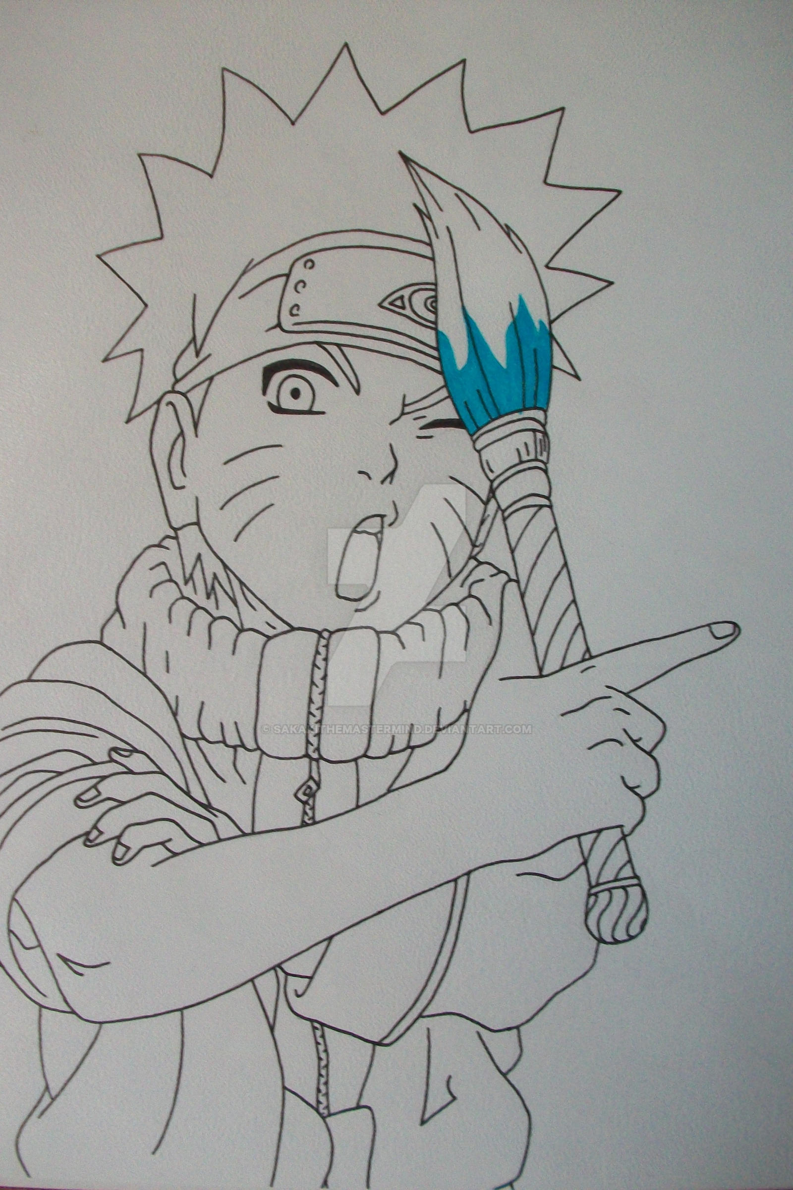 Time To Draw! Naruto Uzumaki young by SakakiTheMastermind on