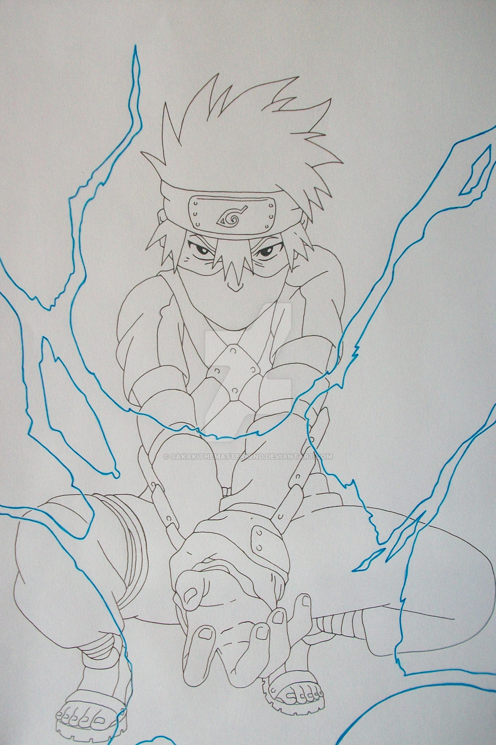 Chidori! Kakashi Hatake young by SakakiTheMastermind on ...