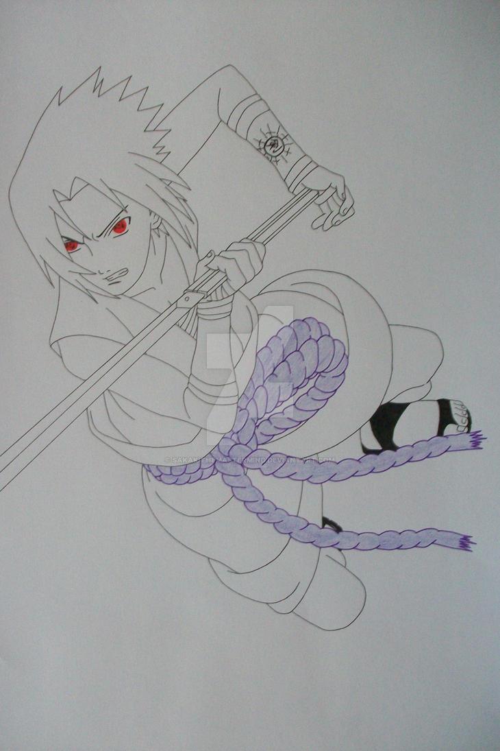 ''ITACHI!!'' Sasuke Uchiha Taka Style by SakakiTheMastermind