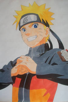 Here we GO! Naruto Uzumaki -colored-