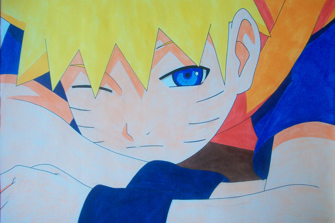 Kid Naruto Uzumaki -colored- by SakakiTheMastermind on ...