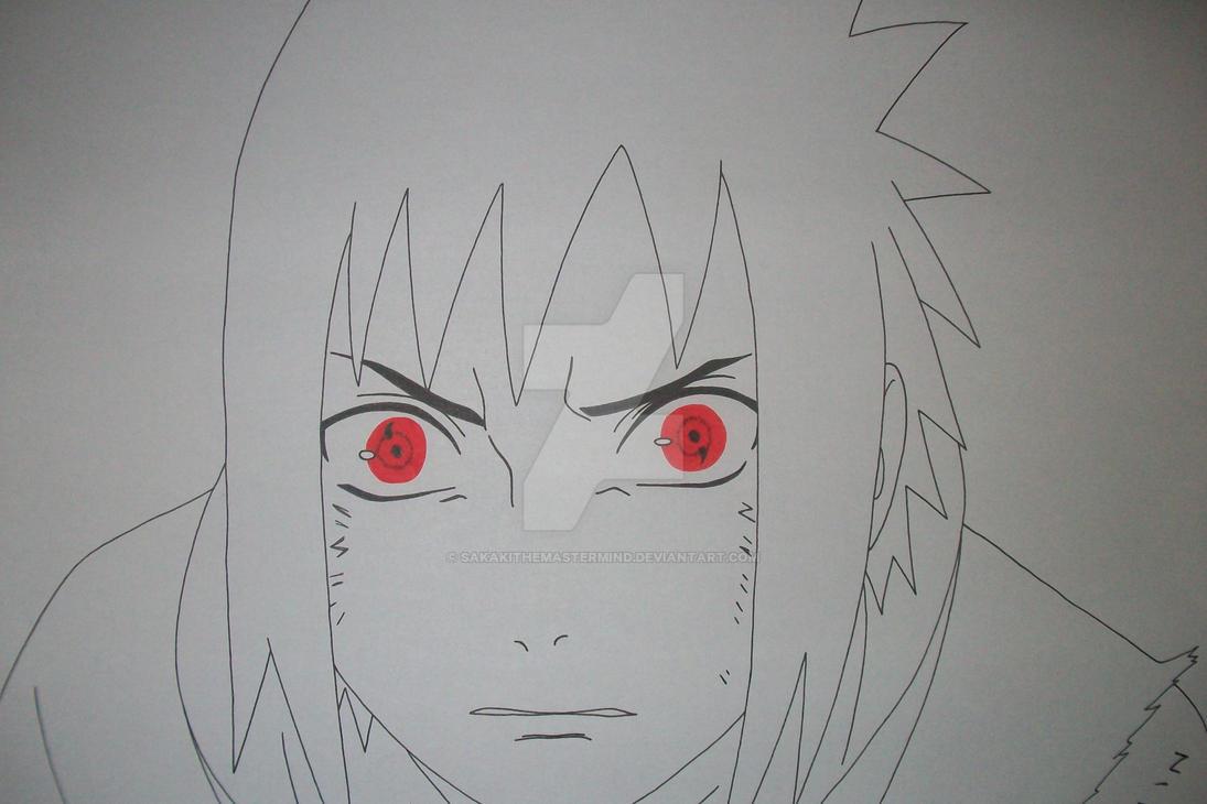 Sasuke Lineart : Itachi sasuke uchiha by sakakithemastermind on deviantart