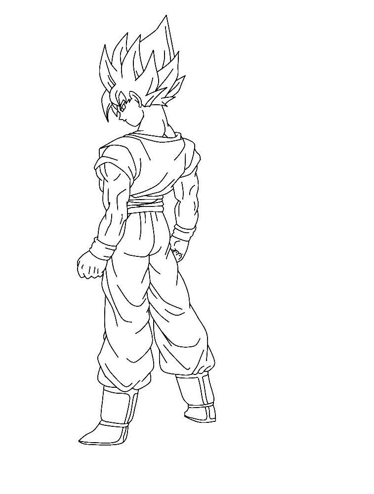 Pictures Of Goku Ssj Dios Para Colorear Wwwstargate Rasainfo