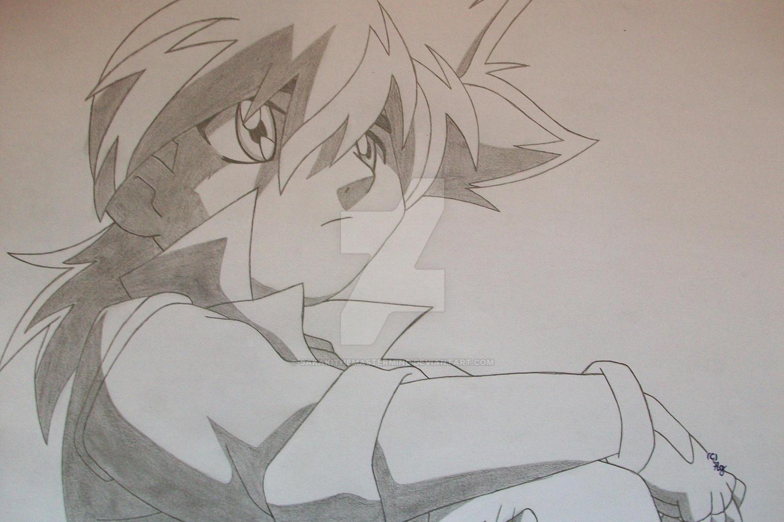 Tyson Granger - pencil practice- by SakakiTheMastermind