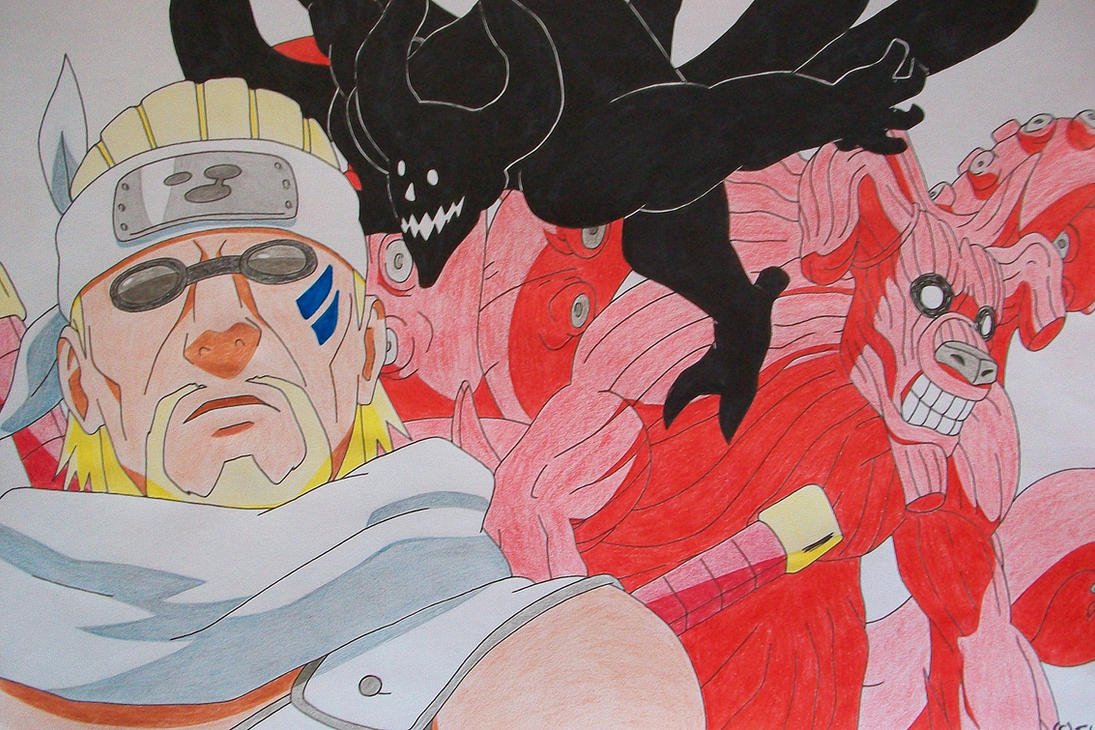 Request - Killerbee (colored pencil version) by SakakiTheMastermind