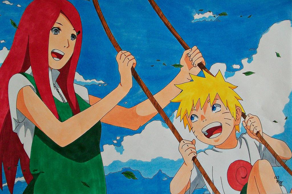 What could have been... Kushina and Naruto (RtN) by SakakiTheMastermind
