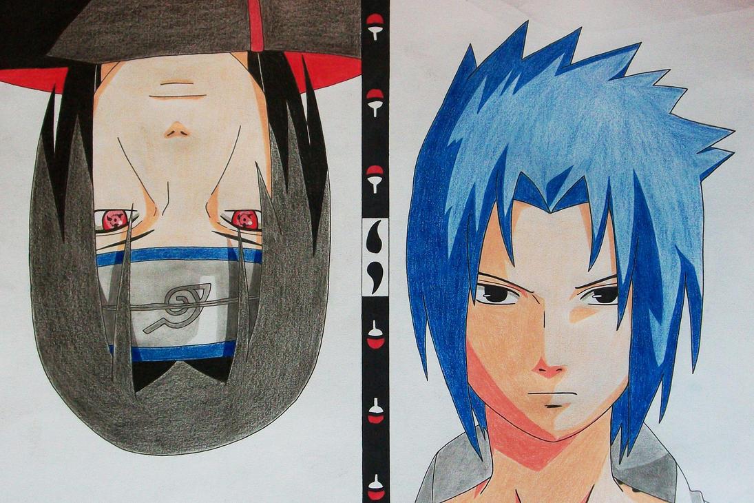 Uchiha Brothers - Sasuke and Itachi by SakakiTheMastermind