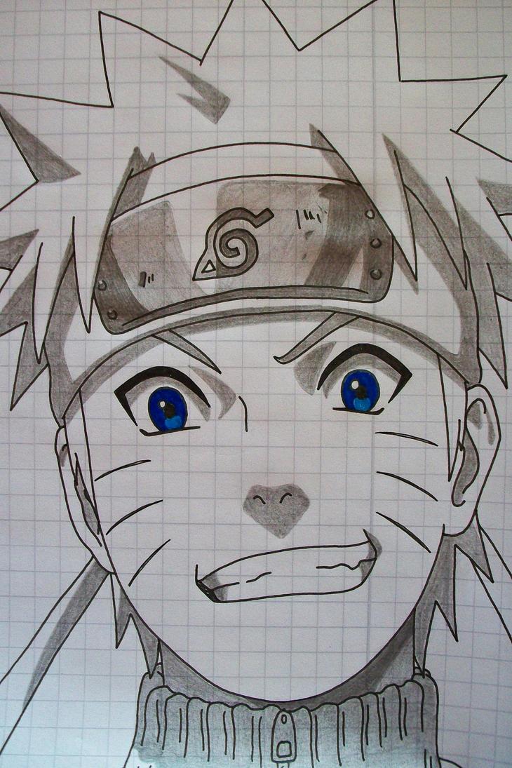 Tegami Art No.4 .:Naruto Uzumaki:. by SakakiTheMastermind