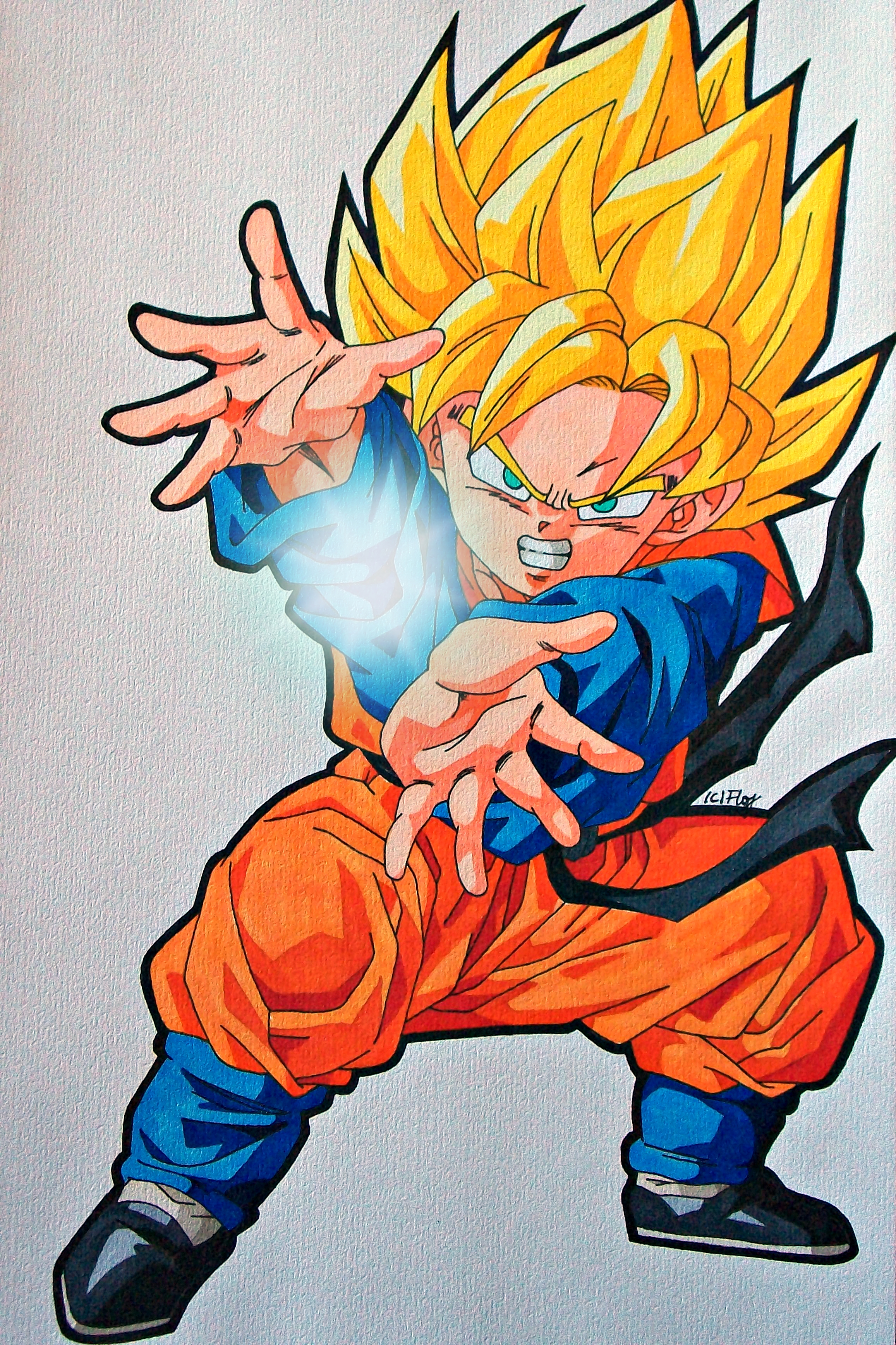 Request - SSJ Son Goten by SakakiTheMastermind