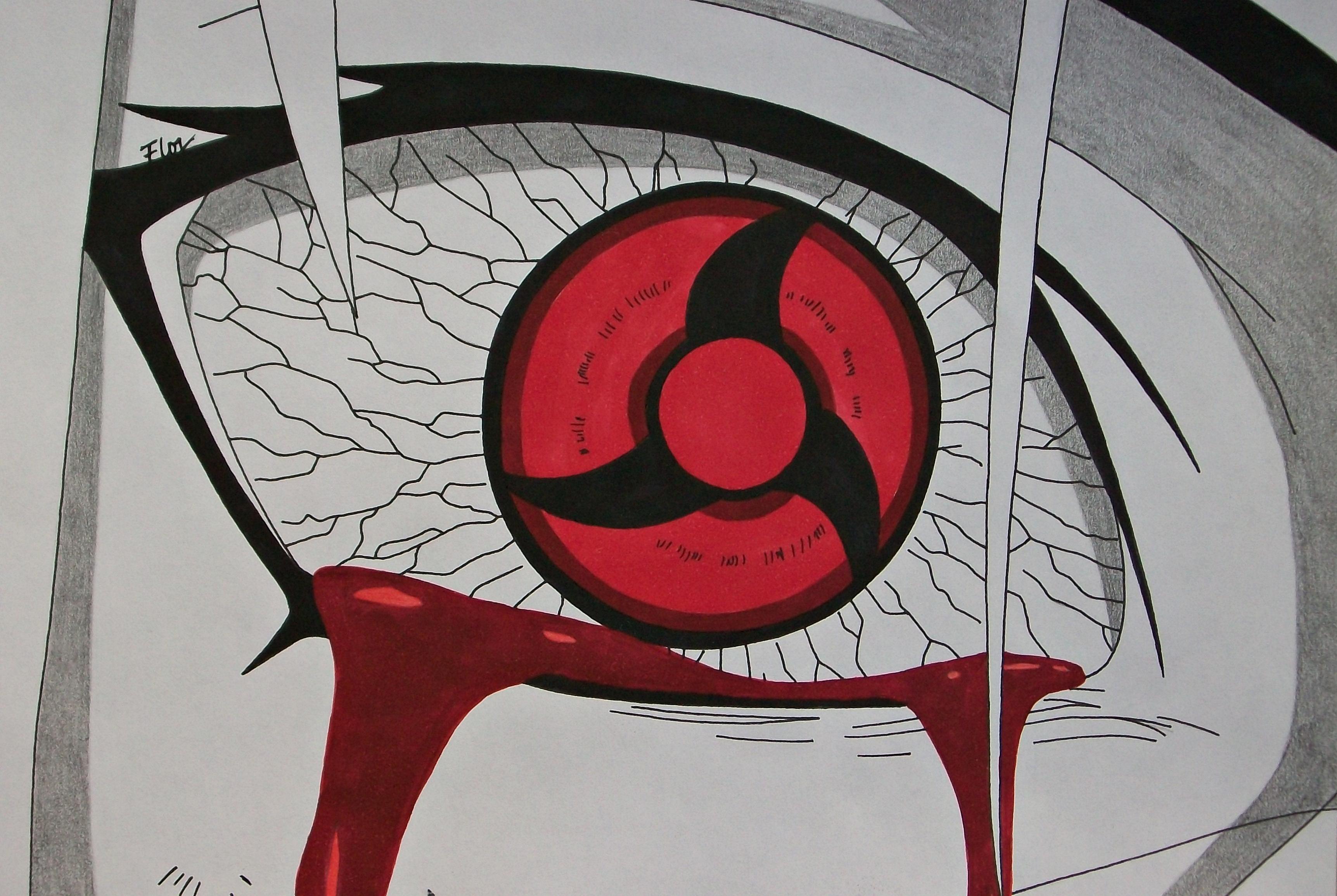 Images Of Bleeding Sharingan Wallpaper