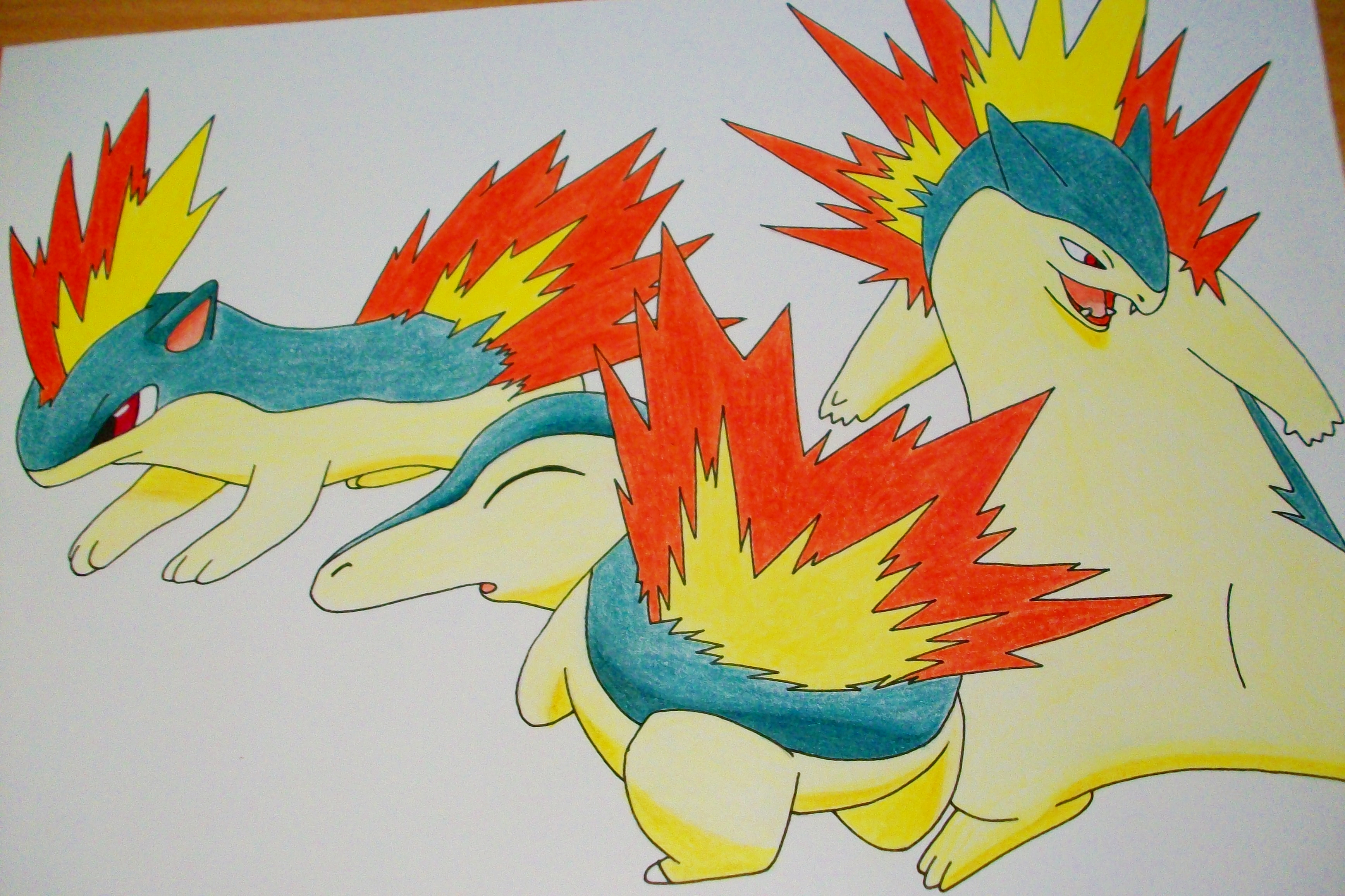 cyndaquil typhlosion quilava - photo #1