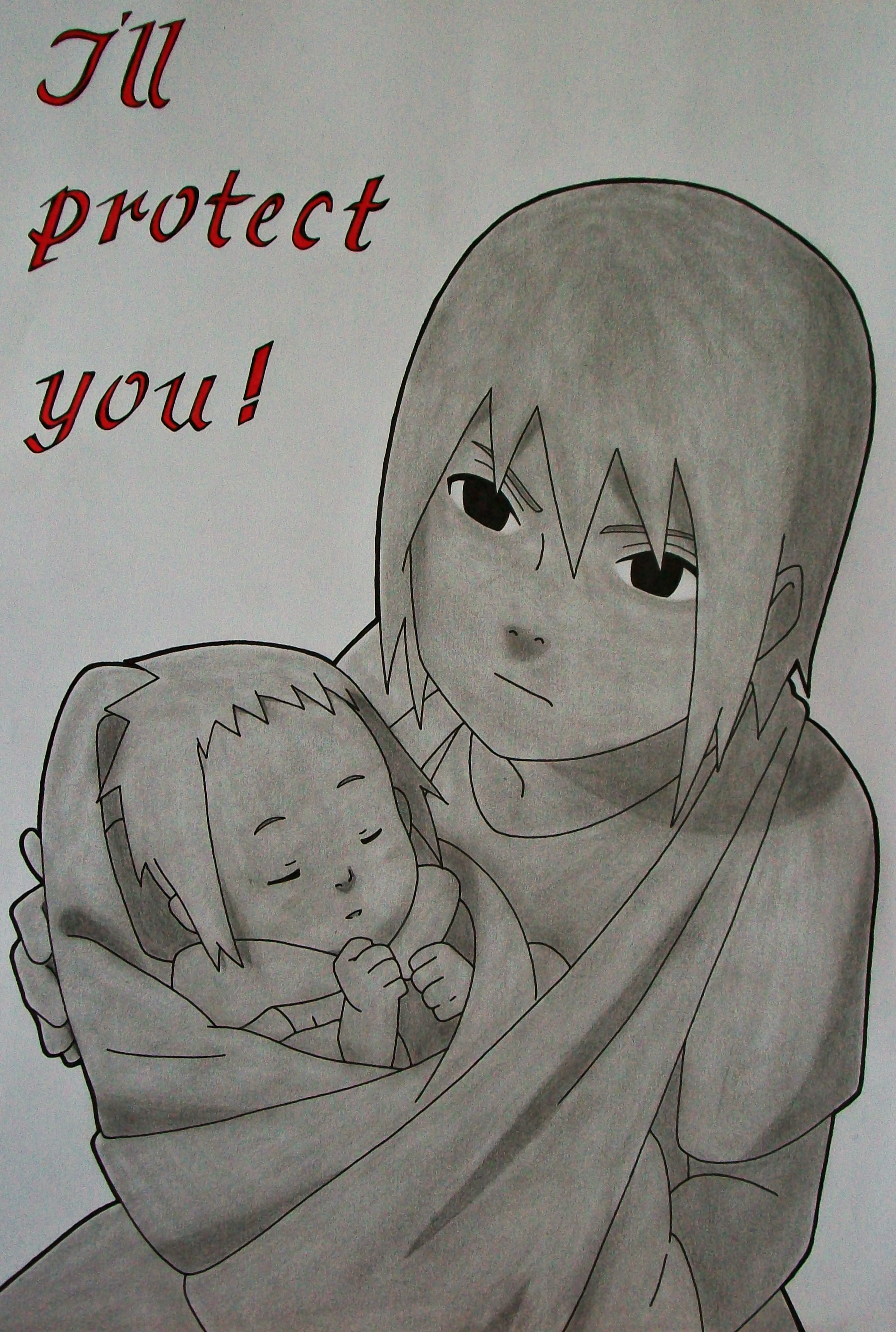 Brotherly Love - Itachi and Sasuke Uchiha by SakakiTheMastermind