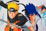 Rivalry - Naruto vs Sasuke!
