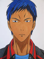The Only One Who Can Beat Me Is ME! - Aomine Daiki by SakakiTheMastermind