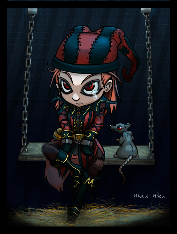 Jester in the cage by Nuku-Niku