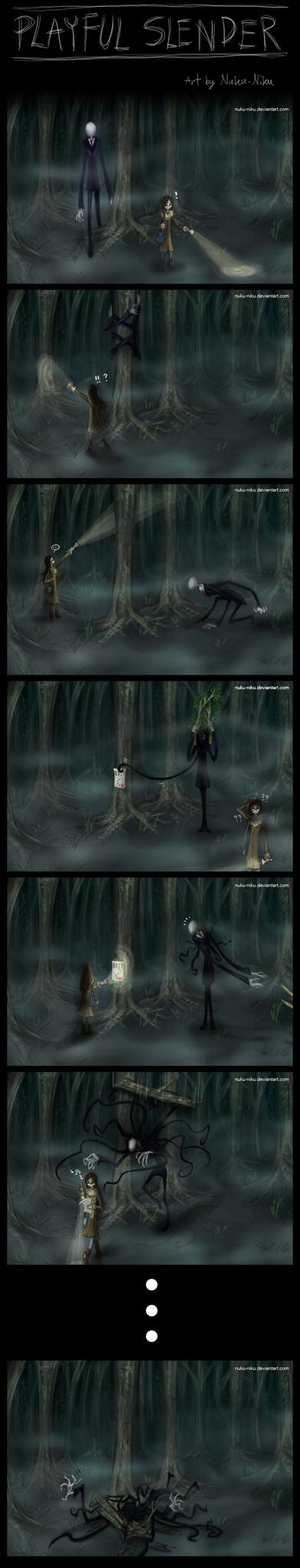 Playful Slender by Nuku-Niku