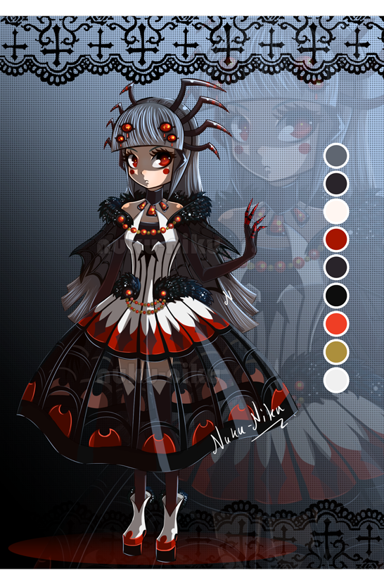 Auction : Black Spider Girl [CLOSED!] by Nuku-Niku on ...