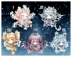 (Auction:Closed )Soulflake Children-Batch 2 by Nuku-Niku