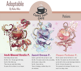 [Closed] : Auction Cuppa Duck 5 (Potions)