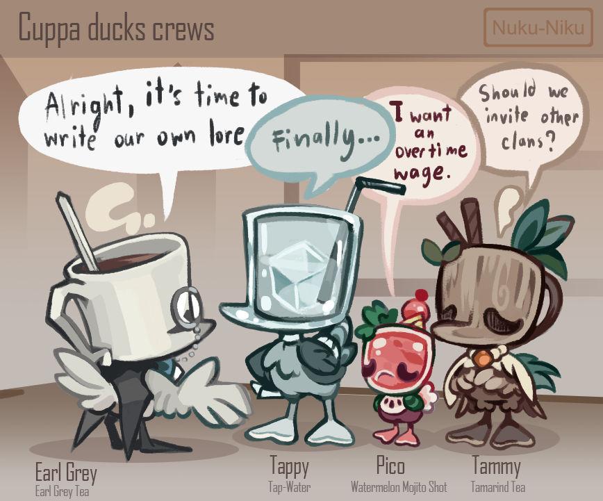 Cuppa Ducks Crew meeting