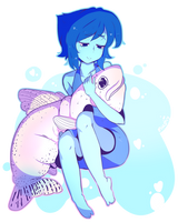 Lapis with fish, by MushyPillows