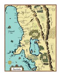 Fantasy Map of Amortentia by HESarah