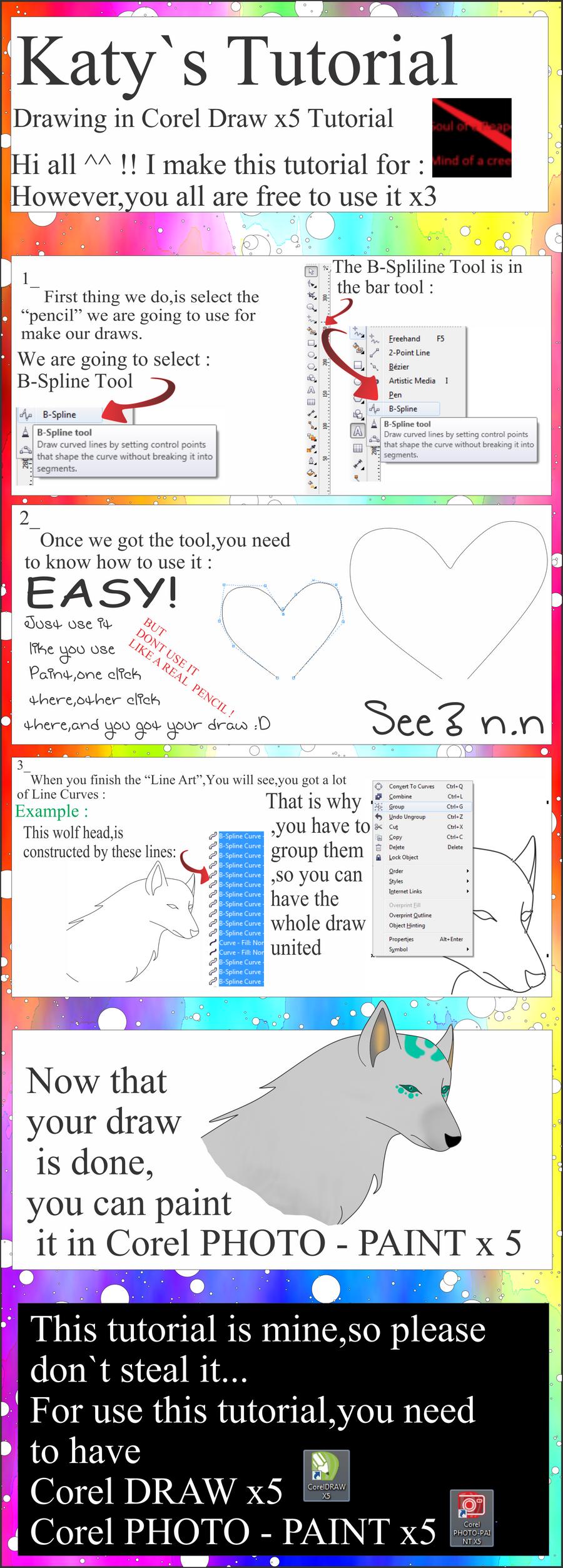 Line Art Coreldraw Tutorial : Corel draw tutorial by chezasnowwolf on deviantart
