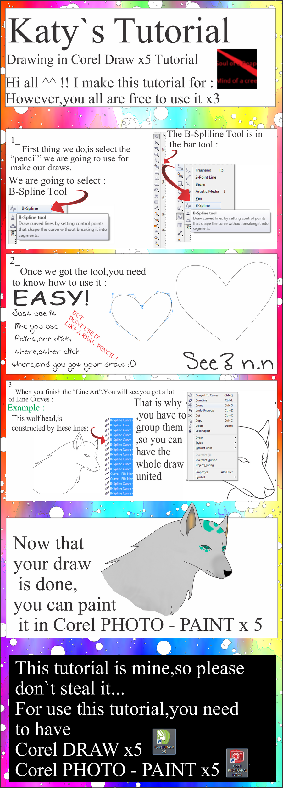 Line Art Corel Draw Tutorial : Corel draw tutorial by chezasnowwolf on deviantart