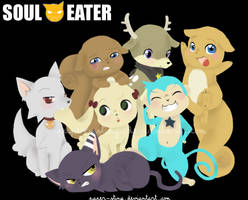 Soul Eater Critters by paper-sting