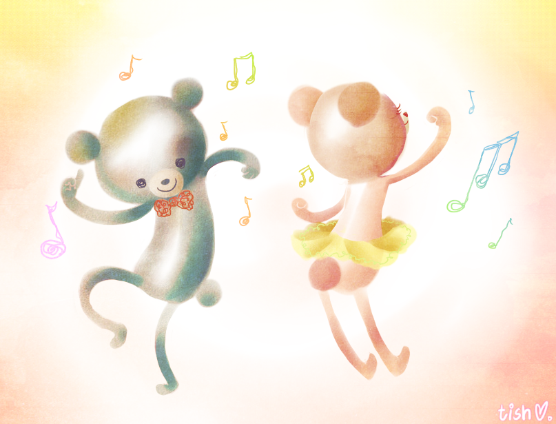 Dancing bears by paper-sting