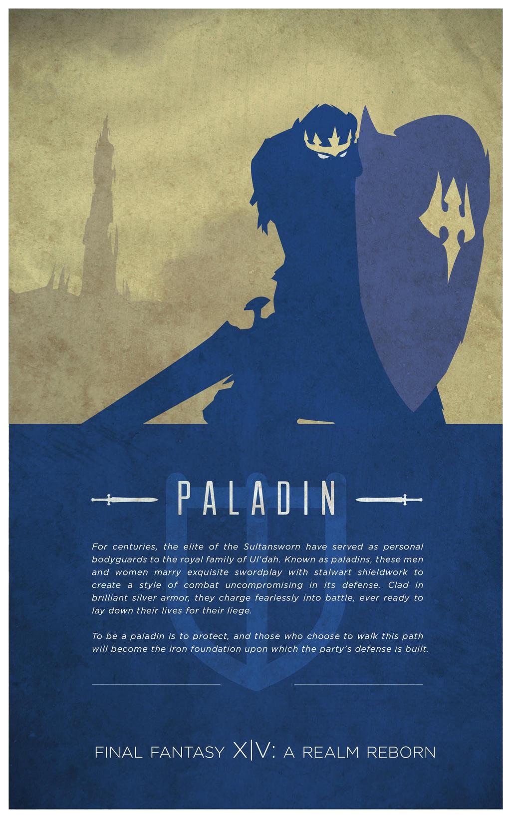 Paladin [Final Fantasy XIV] by fredjully on DeviantArt