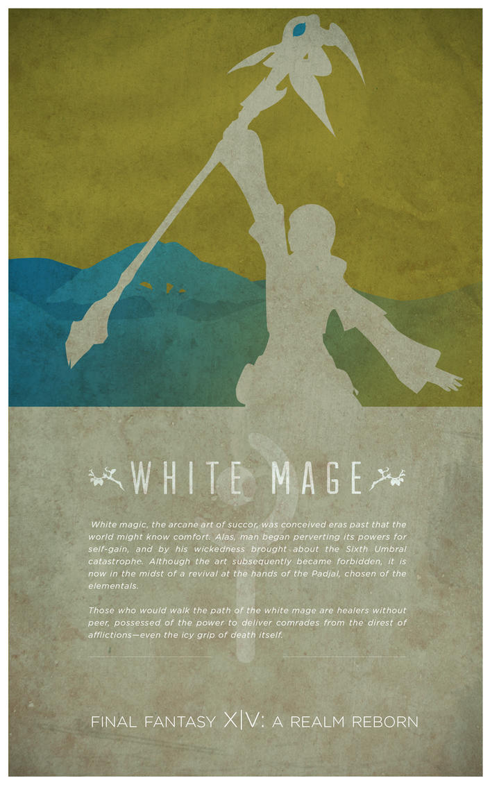 how to become white mage ffxiv