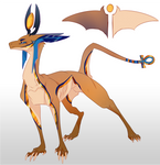 Egyptian Dragon (one off adopt) CLOSED