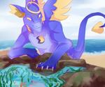 Beach Fun [Daiten Summer Prompt]