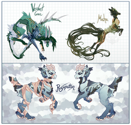 Soft Teals [Kebanzu Guest Auction CLOSED]