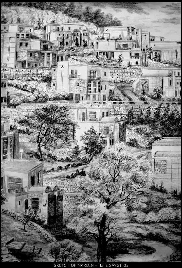 SKETCH OF MARDIN by HalisS