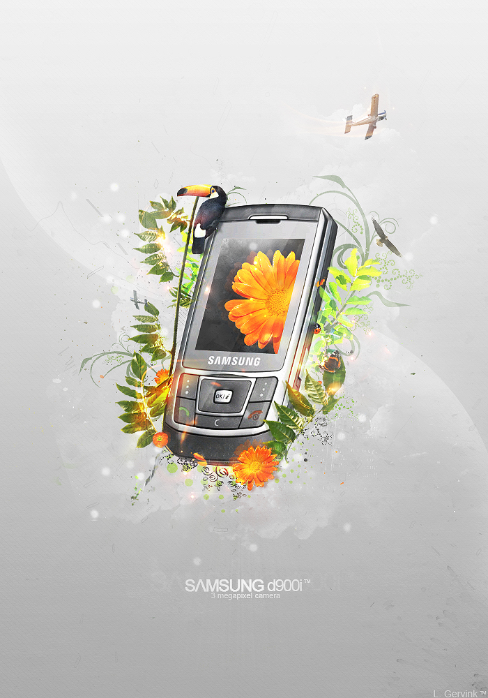 Samsung D900I by LuXo-Art