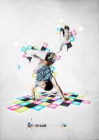 Breakdance by LuXo-Art