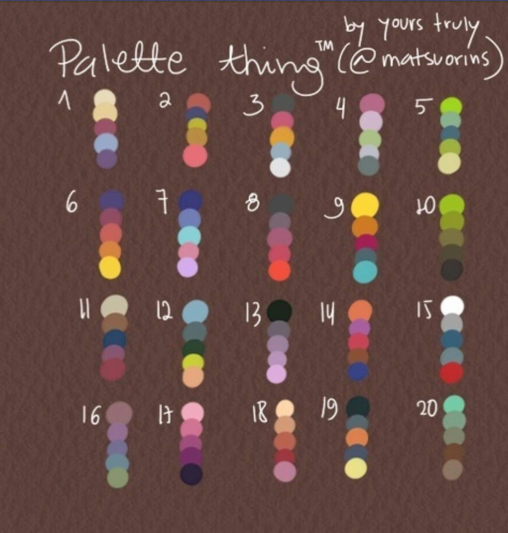 Browse Art | Color palette challenge, Palette art, Art