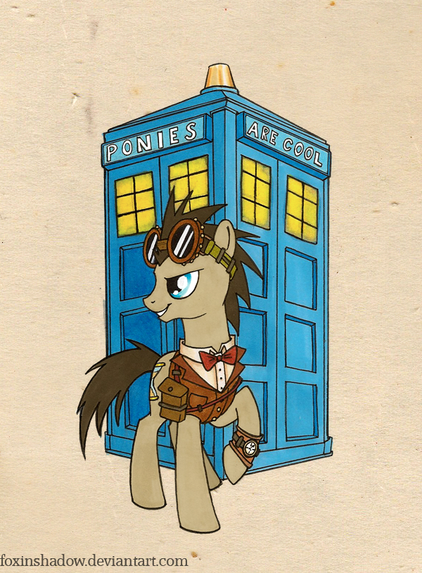 Steamy Doctor Whoof once again by FoxInShadow