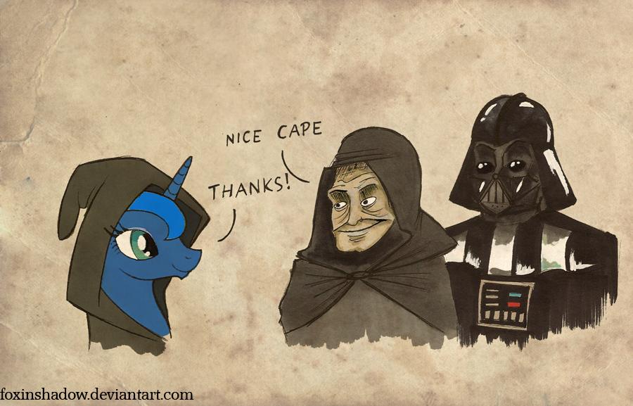 Emperor approves by FoxInShadow