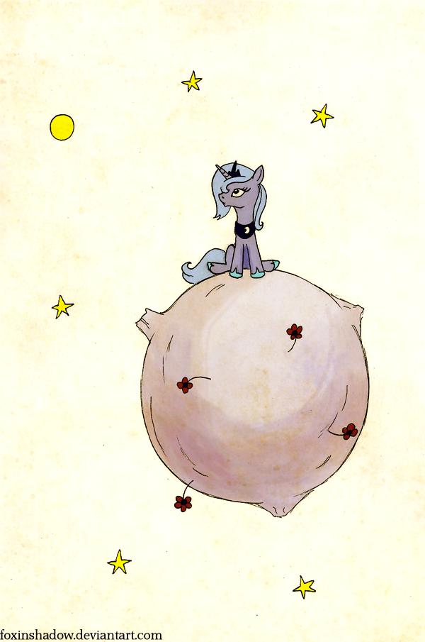 The Little Luna by FoxInShadow