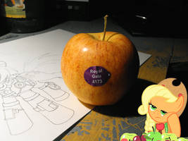 And then my apples were equestrian by FoxInShadow