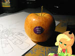 And then my apples were equestrian