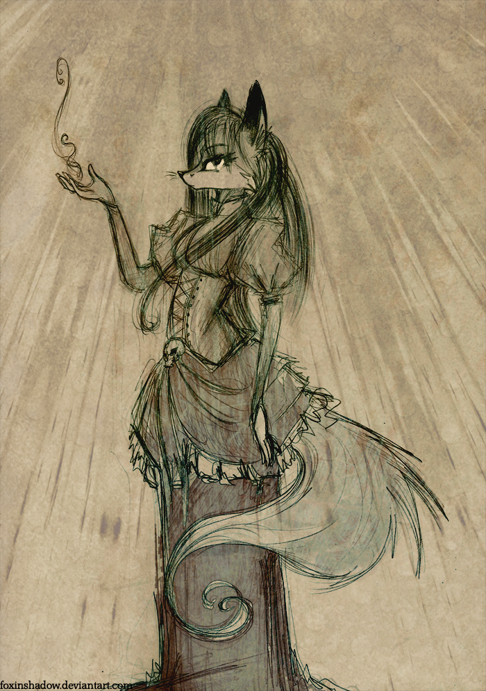 Vixens always dress in style by FoxInShadow