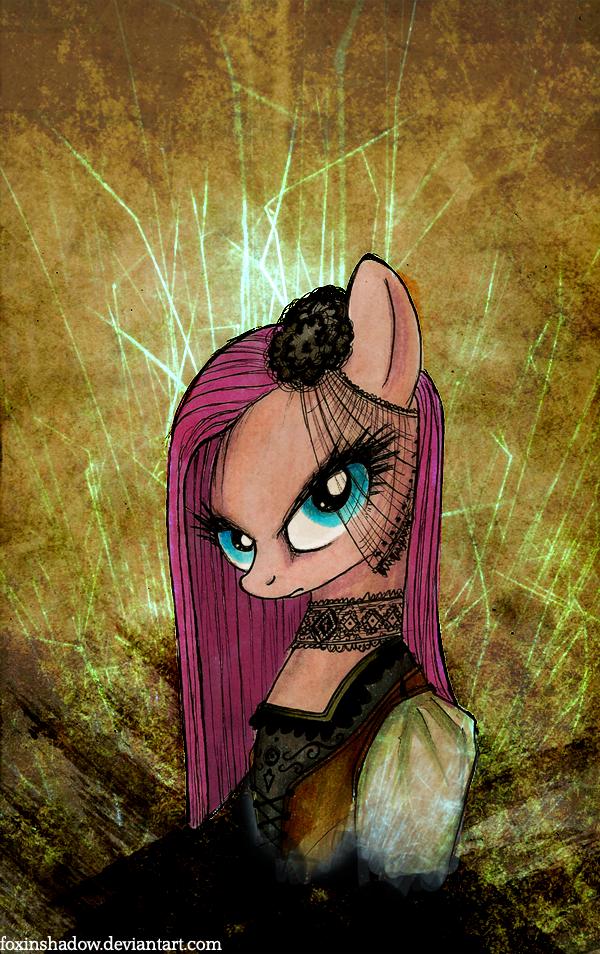 Gothic Pinkamena by FoxInShadow